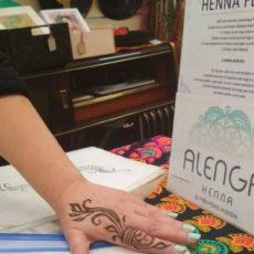 Alenga hennafestés a ficakban