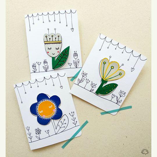 Anyák napi képeslap + fényvisszaverő