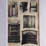 antik nyomat bútorok