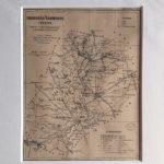 térkép nyomat csongrád megye