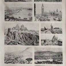 Városkép nyomatok