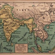antik nyomat India