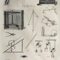 antik nyomat mechanika