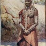 maszáj nő eredeti nyomat