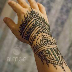 friss hennafestés