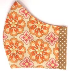 Mandala kifordítható textil maszk