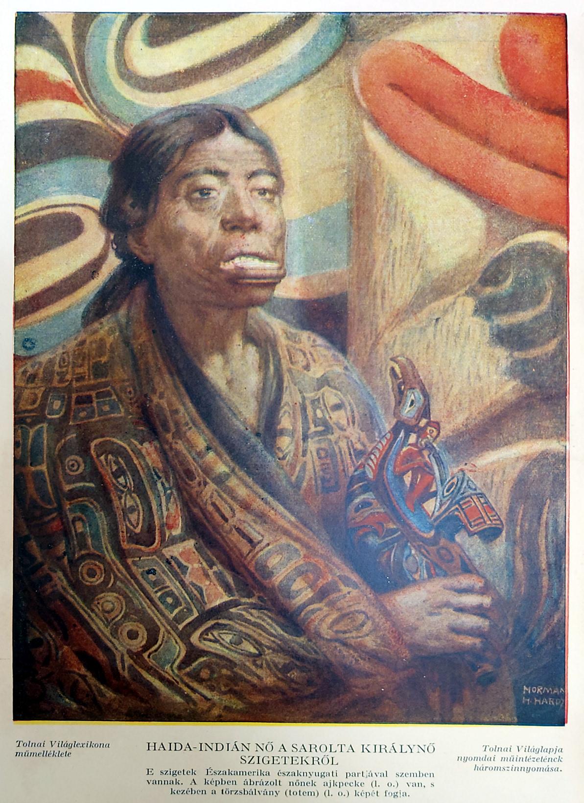 indián nő eredeti nyomat