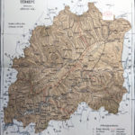 vármegye árva térkép nyomat