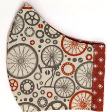 barna bicikli maszk