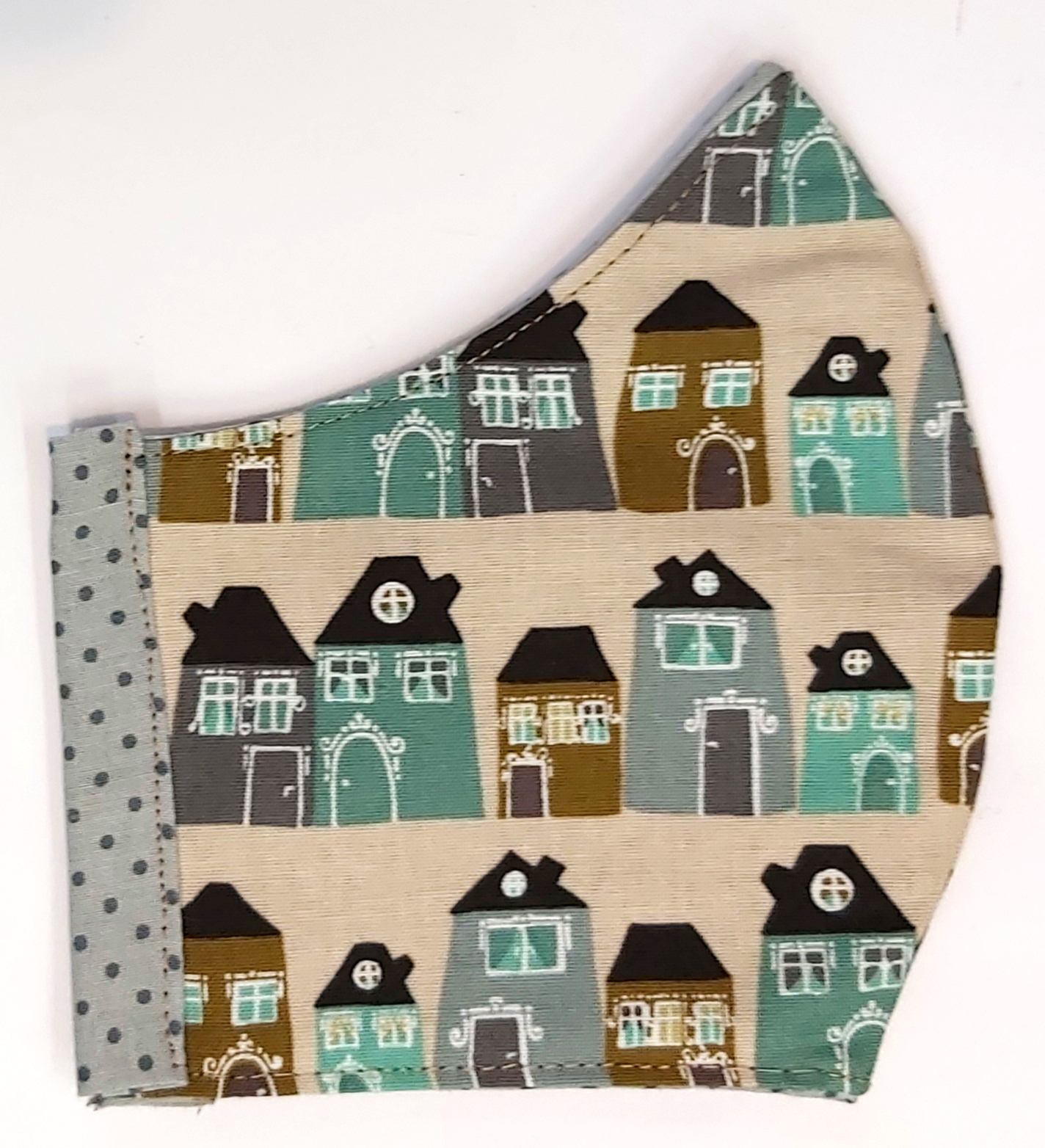 házak női textil maszk
