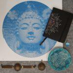 buddha csakra tál mandala