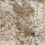 Budapest és környéke térkép eredeti nyomat