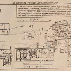 Óbuda Budapest térkép eredeti nyomat
