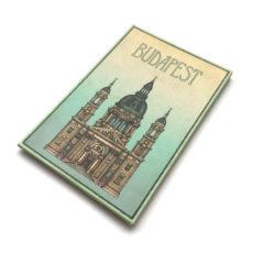 Budapest hűtőmágnes Bazilika