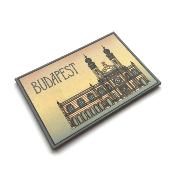 Budapest hűtőmágnes Zsinagóga