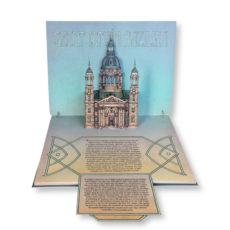 Budapest leporelló pop-up book irka-firka kiadó