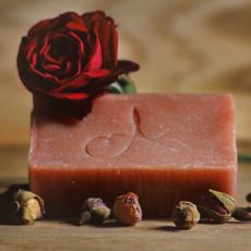 rózsa szappan érzéki puhaság