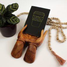 anazu design hímzett jegyzetfüzet latte a5
