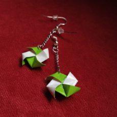 Forgó origami ékszer