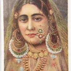 hindu táncosnő nyomat