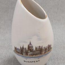 Budapest Parlament retro szuvenír ferde váza