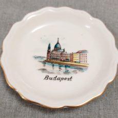 Budapest retro szuvenír tálka