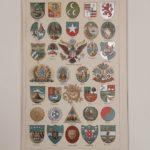 Címerek 2 eredeti régi nyomat