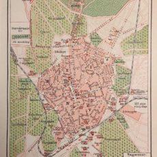 Debrecen térkép régi nyomat