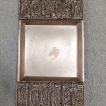 Dekoratív retro fém tálka 2