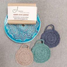 Mandala mintás szappantartó ajándékcsomag