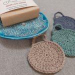 Mandala mintás szappantartó ajándékcsomag 2