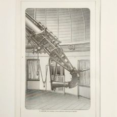 távcső spektográf Potsdam eredeti régi nyomat