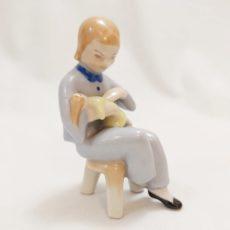 Drasche kislány babával retro nipp