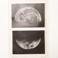 Hold eredeti régi nyomat