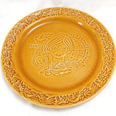 Nőnap Gránit retro tányér