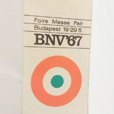BNV 1967 retro reklámzászló