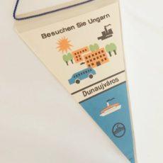 Dunaújváros retro reklámzászló
