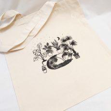 Macska növények között (cat plant) táska többféle