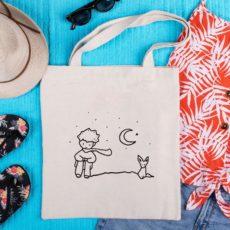 kis herceg totebag táska hangulat 2