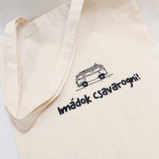 Vw kisbusz vászont táska totebag
