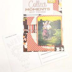 Élményt gyűjts designer kollázs képeslap