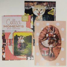 3 darabos nem cica képeslap csomag