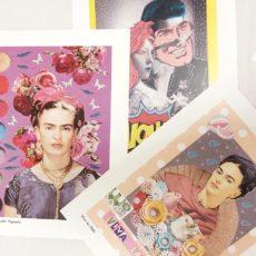 3 darabos print csomag Frida WOW