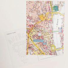 Budapest Go designer kollázs képeslap
